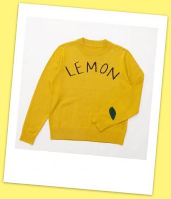 レモンニット